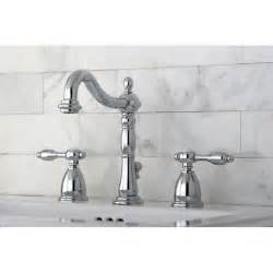 kingston brass tudor handle widespread bathroom