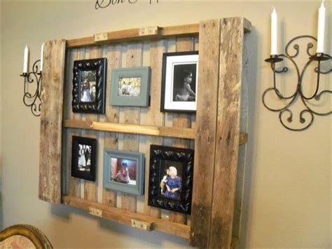 marvelous and rustic pallet wood home decor