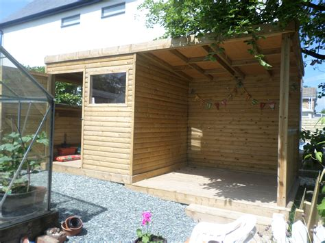 Shed Area storage shed inc seating area