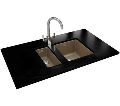 fragranite kitchen sinks franke kubus kbg 110 34 fragranite oyster 1 0 bowl
