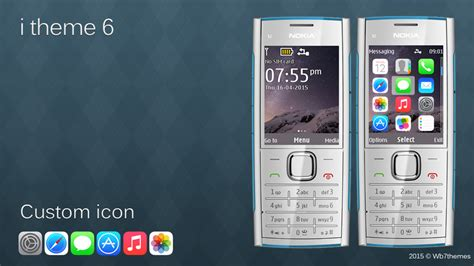 themes jar nokia 206 ios theme for nokia x2 00