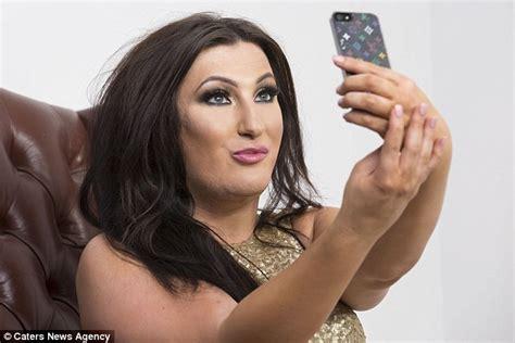 transgenger in arabian makeup transgender tiffany rose davies set to marry multi