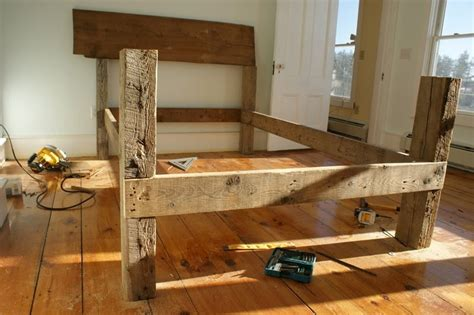 barn wood bed frame barn board bed frame search house