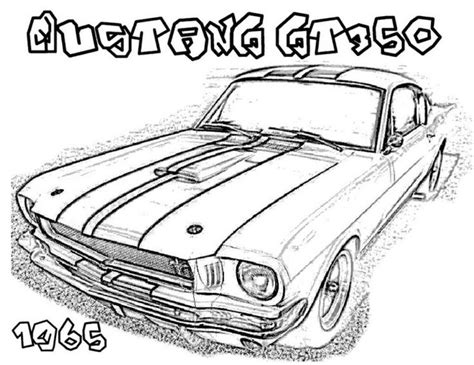 coloring pictures of mustangs cars 66 best ford coloring pages images on pinterest