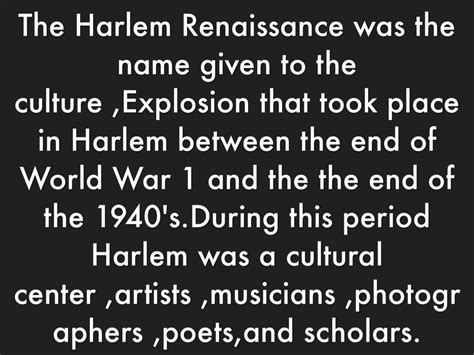 themes of literature during the harlem renaissance timeline by charday thorton