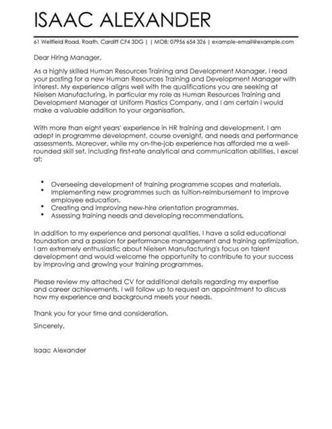 cover letter looking for new opportunities and development cover letter template cover