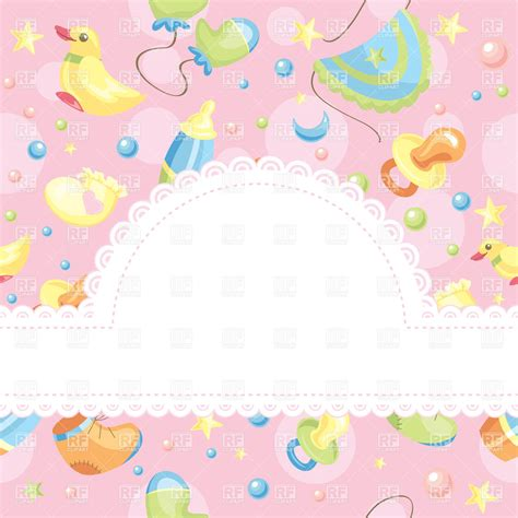 baby background baby background with free space for photo vector image