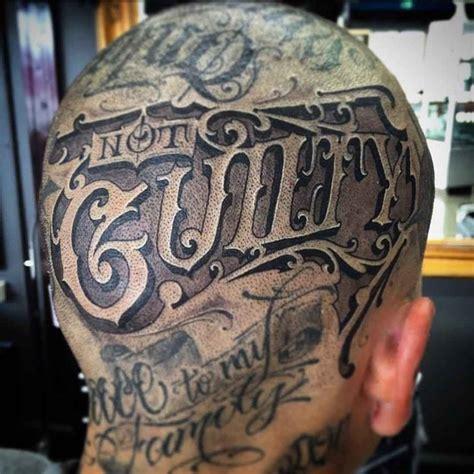 guilty head tattoo  tattoo ideas gallery