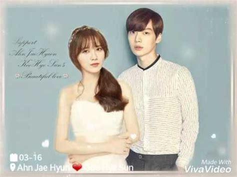 goo hye sun married ahn jae hyun goo hye sun ahngoo wedding fanart youtube