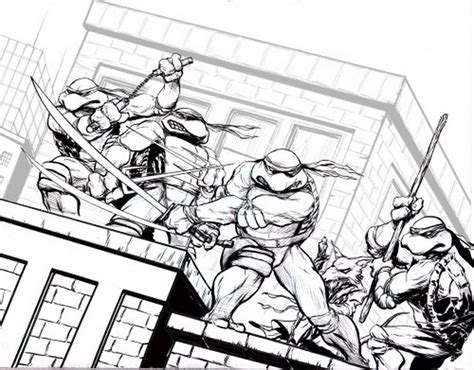 free coloring pages of all ninja turtle