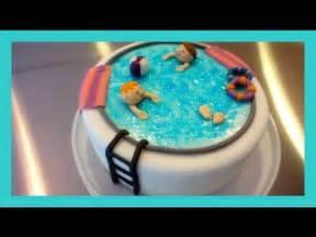 motivtorte schwimmbad motivtorte swimming pool schwimmbecken fondant torte
