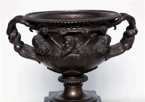 Warwick Vase by 19th Century Iron Warwick Vase For Sale At 1stdibs