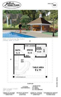 pool house floor plans with bathroom pool house bathroom on pinterest pool houses outdoor