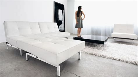 Modern White Leather Sofa Bed Sleeper White Leather Sleeper Sofa Small Modern White Leather Loveseat Sleeper Sofa With Pillows For