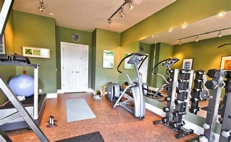 Love the track lighting   Home Gym   Pinterest   The o