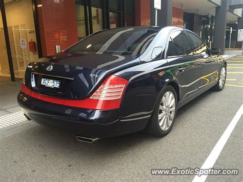 maybach australia mercedes maybach spotted in melbourne australia on 03 26
