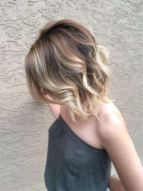 sombre bob haircut for fine thin hair blonde bob blonde with highlights blonde with lowlights