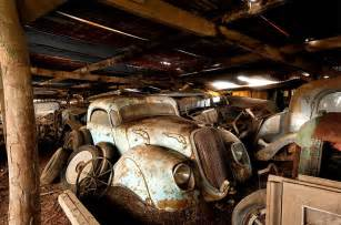 Garage Sale Finder Vancouver 60 Vintage Cars Found After 50 Years Of Neglect On