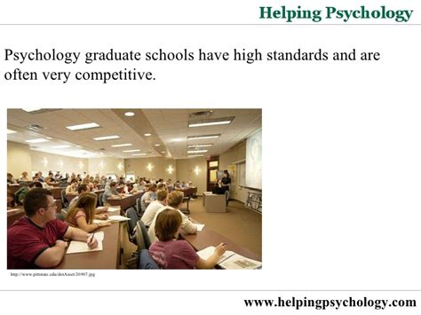 Grad School Mba Requirements by Psychology Graduate School Requirements