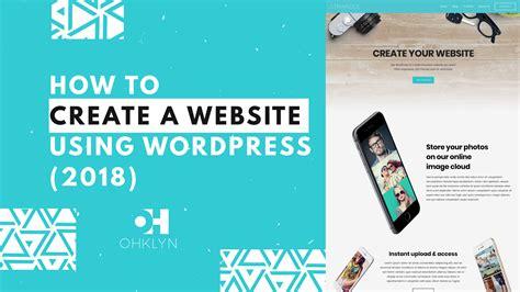 tutorial on wordpress website free wordpress tutorial by ohklyn beginners to intermediates