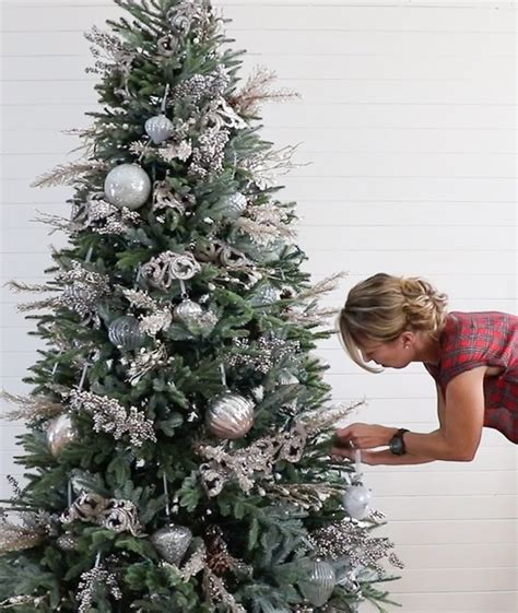 decorating a christmas tree with balsam hill sincerely