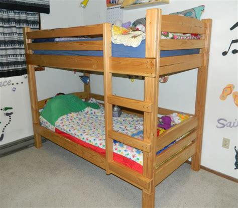 Toddler Bunk Beds Plans Bunk Bed