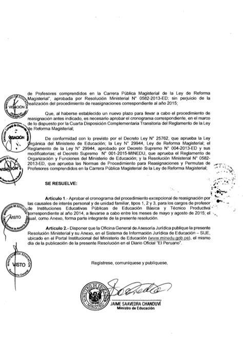 resolucion ministerial n199 2015 minedu resoluci 211 n ministerial n 176 282 2015 minedu