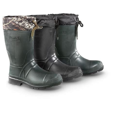 rubber boots kamik s sportsman rubber boots waterproof insulated