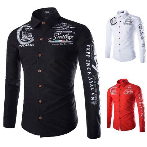 Stylish Shirt Dresses by 2016 Mens Fashionable Sleeve Shirts Stylish Dress