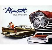 Plan59  Classic Car Art Vintage Ads 1957 Plymouth