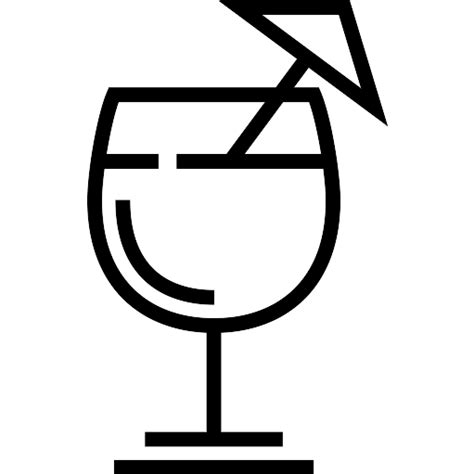 drink svg cocktail free food icons