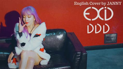 download mp3 exid ddd exid 이엑스아이디 ddd 덜덜덜 english cover by janny youtube