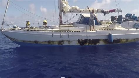 fishing boat lost at sea us navy ship with 2 women rescued at sea reaches japan