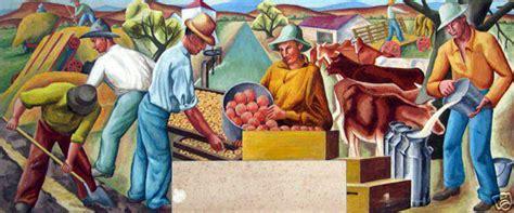 Los Banos Post Office by Los Banos Ca New Deal