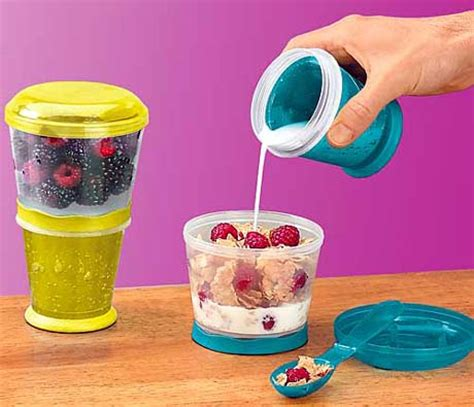 Cereal On The Go by The Future Of Food Is Portable A Ohgizmo