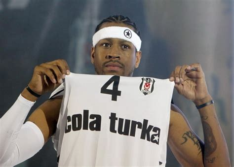 Turkish Bascketball Mba Player by Allen Iverson Has Made It To Turkey
