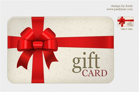 present card template high resolution gift card psd psdblast