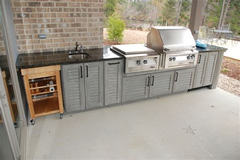 pearl river outdoor kitchen traditional patio other