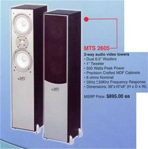 millenium mts 2605 tower speakers website of jojoshow