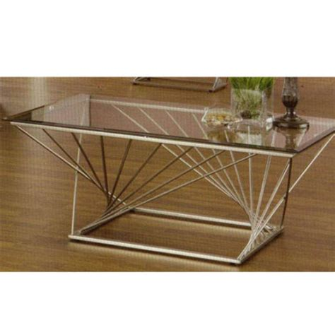 glass coffee table metal base rectangular contemporary metal sculpture base coffee table