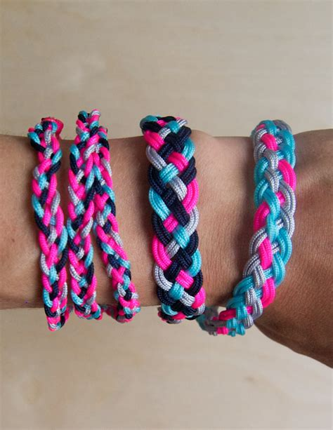 Braiding String Designs - braided friendship bracelets purl soho