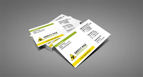 Home Design Engineer business card design and printing for heavy fabrication shop
