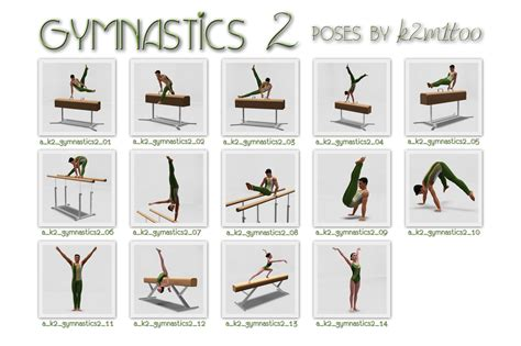 Kitchen Position Names by Mod The Sims Gymnastics Poses 2 Bonus Updated 30 Mar 15
