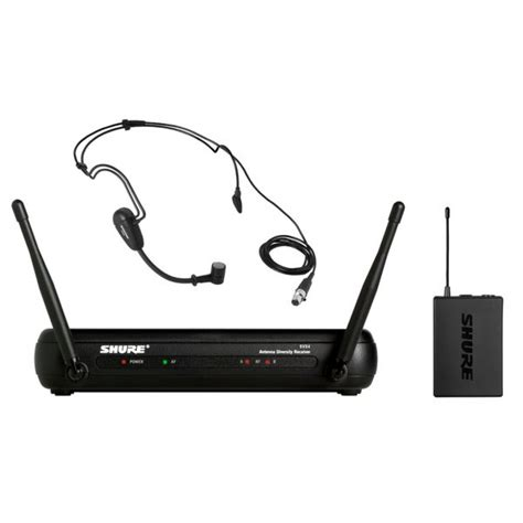 Headset Shure shure svx14 pg30 headset wireless system with pg30 headset mic