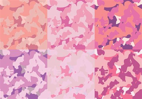 pattern of pink fashion pink patterns camo texture download free vector