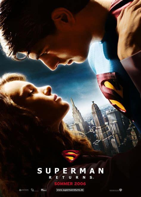 Superman Original Superman 5 superman returns poster teaser 2 jpg zoom cinema fr