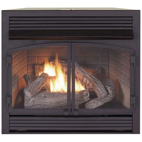 dual fuel fireplace insert zero clearance 32 000 btu