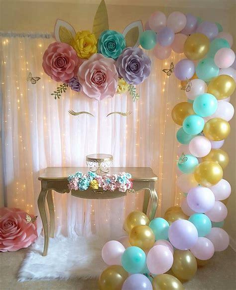 2nd birthday decorations at home unicorn backdrop unicorns pinterest unicorns