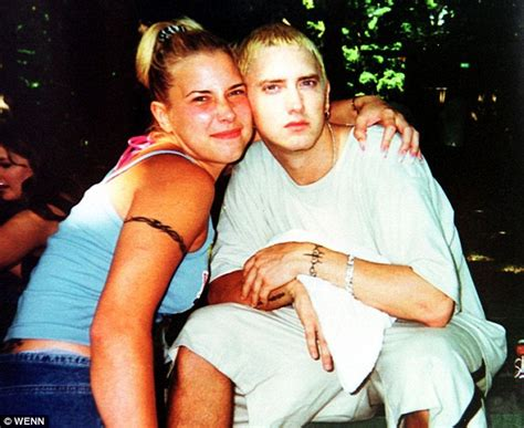 eminem and wife eminem s daughter hailie jade scott mathers is a young