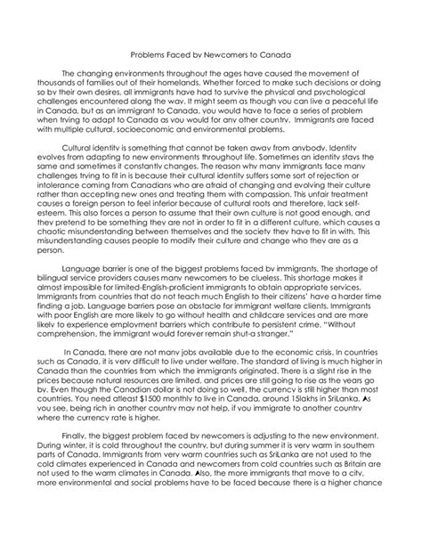 Overcoming Barriers Essay by Exle About Overcoming Obstacles Essay